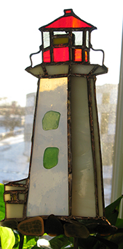 Lighthouse Suncatcher