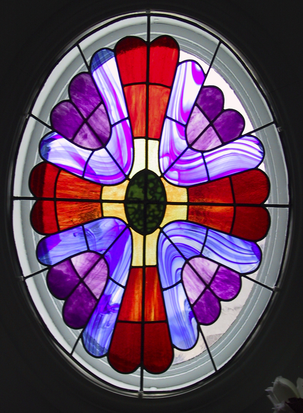 Attractive Stained Glass Windows by Michael D. Mann RL86